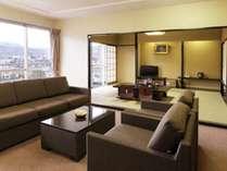 【休前日】お一部屋限定☆和洋室確約と約70種類豪華バイキングプラン