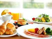 朝はしっかりと!和・洋ビュッフェスタイルで朝食を♪(朝食付)