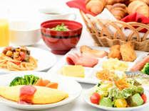 朝食リニューアル(一例)