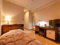 *シングル(客室一例)/無料ネット対応可(お部屋にてWi-Fi利用OK♪)。快適なホテルステイを!