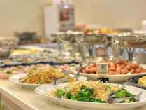 *朝食バイキング/和洋中約15種類のメニューをお好きなだけお召し上がり下さい。