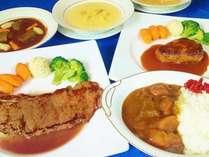 「じゃらん限定」地元食材の美味しい料理+特選牛ステーキor手作りハンバーグの店+天然温泉ポッキりプラン