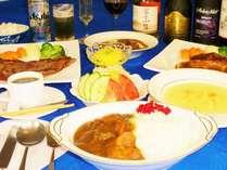 豊かな味わい♪特選牛ステーキなど手作りのお料理メニュー追加料金500円~◎楽しみに♪