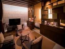 お部屋タイプ 鶯鳴和室 46.49平米ベットルーム 源泉かけ流し露店風呂付