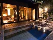 鶯鳴 露天風呂付き客室