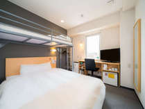 【スーパールーム】2名様でご利用OK 2段ベッド完備のお部屋 <スーパーホテル米子駅前>