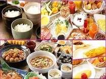 自慢の朝食ブッフェ~和洋80種~コシヒカリ三種食べ比べで、朝食から「新潟」を堪能してください。