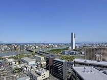 柳都大橋を望む、みなちまち新潟