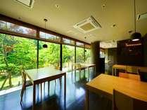 ■ガーデンビュー■純日本庭園に面した和モダンな空間【食事処ゆめ香-朝-】