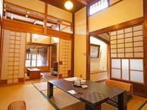 【懿徳(いとく)】 和室6畳と4畳半、五右衛門風呂付き客室