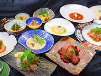 吉祥開運亭 無尽蔵のお料理【美味礼讃】※フォトギャラリーのお料理は一例です。