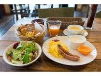【朝食一例】本格アメリカンブレックファースト