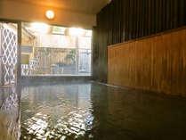 良質の塩化物泉、天然の下賀茂温泉100%。源泉かけ流し。