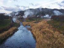 源泉密集地帯である下賀茂の街中の宿。地の利を活かし、天然の温泉が加水も加温もせずに大浴場に注がれます