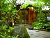 【玄関】やわらかな木洩れ日が皆様をお出迎えします