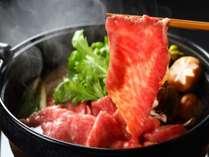 阿蘇の大自然の中で育った熊本県産和牛『肥後牛』のすき焼き