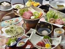 【食べ比べ会席】≪ご当地ブランド肉3種≫見蘭牛&むつみ豚&長州どりの三つ巴!