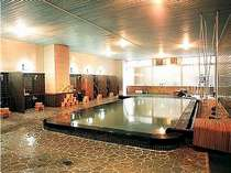 【大浴場】松江しんじ湖温泉の湯を愉しめる。