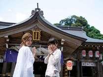 八重垣神社で縁結び祈願