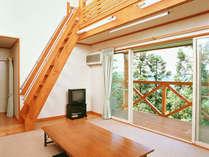 *【客室一例】大自然に包まれ、アットホームな雰囲気の中お寛ぎいただけます。