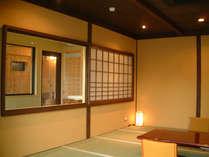 3F展望風呂付客室できました♪構造は4F展望風呂と同じ。窓をオープンにして入浴をお楽しみいただけます♪