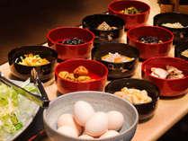 ■バイキング■ご飯に合うお惣菜【12種類】を日替わりでご用意!