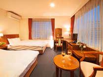 ■光の差し込む客室■清潔感ある明るいお部屋で快適にお過ごしいただけます