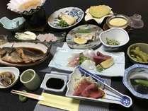 一泊 夕食 朝食付き  おまかせ地魚会席(5000円コース)