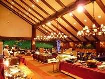 夕食ブッフェ【イメージ】趣きあるレストランで楽しむ北海道の味♪