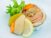 20周年特別料理!「あわびの柔らか蒸し」このプランでしか食べられない特別料理です!!