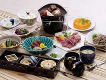 【会席一例】北陸・若狭の季節の食材を会席でご堪能下さい。