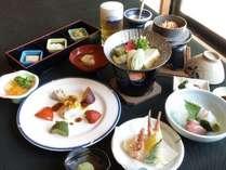 【坊ちゃん会席】松山の「美味い」をそろえたワンランク上の会席です。※写真は一例です。