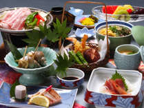 【基本グルメ】加賀の山海「旬の味覚」を味わう定番リーズナブルな1泊2食付きプラン!