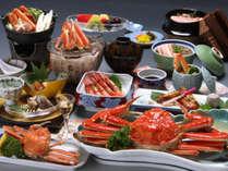 【月物語☆夫婦蟹会席】大姿ずわい蟹と香箱蟹を夫婦で一杯ずつ♪ 北陸にに来たら…やっぱり蟹でしょっ