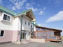 *【外観】ノシャップ岬まで徒歩1分の好立地♪晴れていれば利尻富士が拝めます!