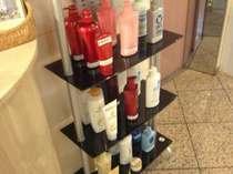 各人気メーカー・ボトルシャンプー無料レンタル実施中!数に限りがございますが、是非ご利用くださいませ♪