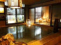 ◆男性内風呂(天然温泉:約40~41℃)