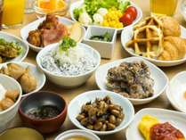 ◆朝食バイキングメニュー(イメージ)