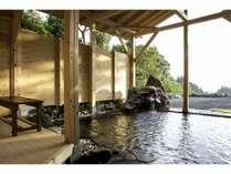8月1日、北アルプスを望む絶景展望貸切露天風呂がオープン!