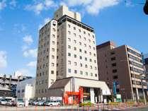 ◇国道197号線沿い、12階建てのホテルです☆