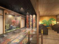 加賀友禅をモチーフにした女性浴場※画像はイメージです