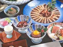 【鴨コース一例】特性出汁の鴨鍋をはじめ、様々なアレンジでお楽しみいただけるフルコース★