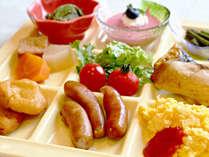 ≪朝食バイキング≫朝食をしっかり食べて、元気に一日をスタートしましょう♪