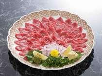 追加料理例:馬刺し(4~5名盛) ¥5,000(税込)より