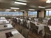 10階展望レストランのバイキング会場