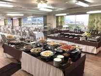 バイキング会場通常10Fのレストランですが、2Fのレストランになる場合もございます