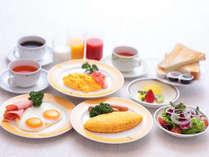 選べるご朝食一例【洋食】卵料理は3種類からお選びください
