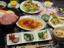 [夕食一例]地元の食材・旬の味。心を込めて、すべて手作り。