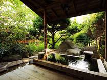 少しぬるめの源泉100%の温泉でゆったりとお楽しみください。