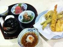 日替わり夕食天ぷらセット